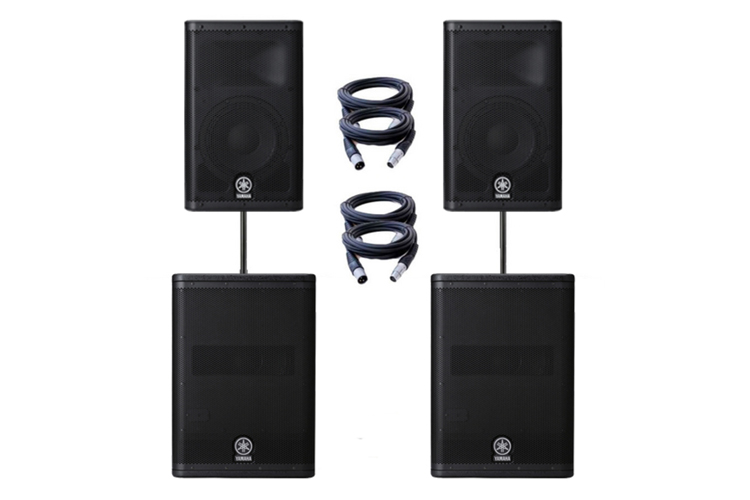 Yamaha-dxr15-with-subs